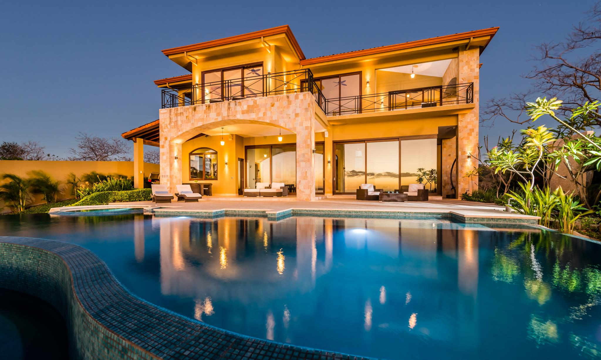 Tamarindo Beach Sunset Villa In Costa Rica US $ 3,900,000 See It